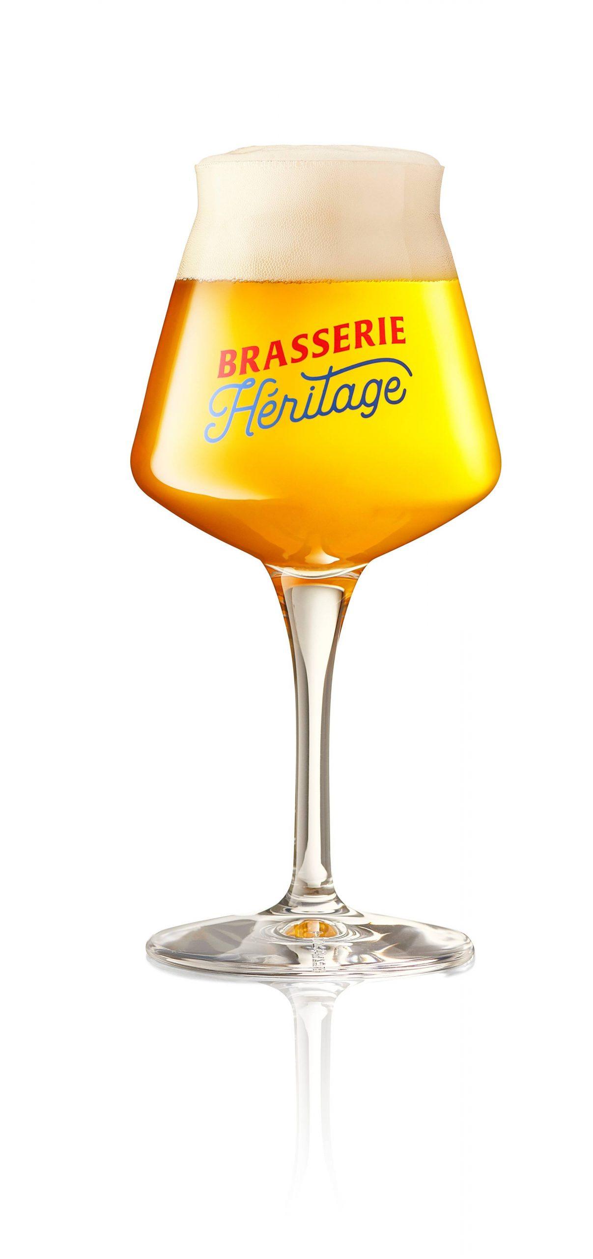 Brasserie Heritage - Verre 25